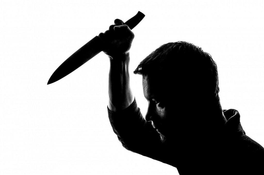 people, knife, stabbing